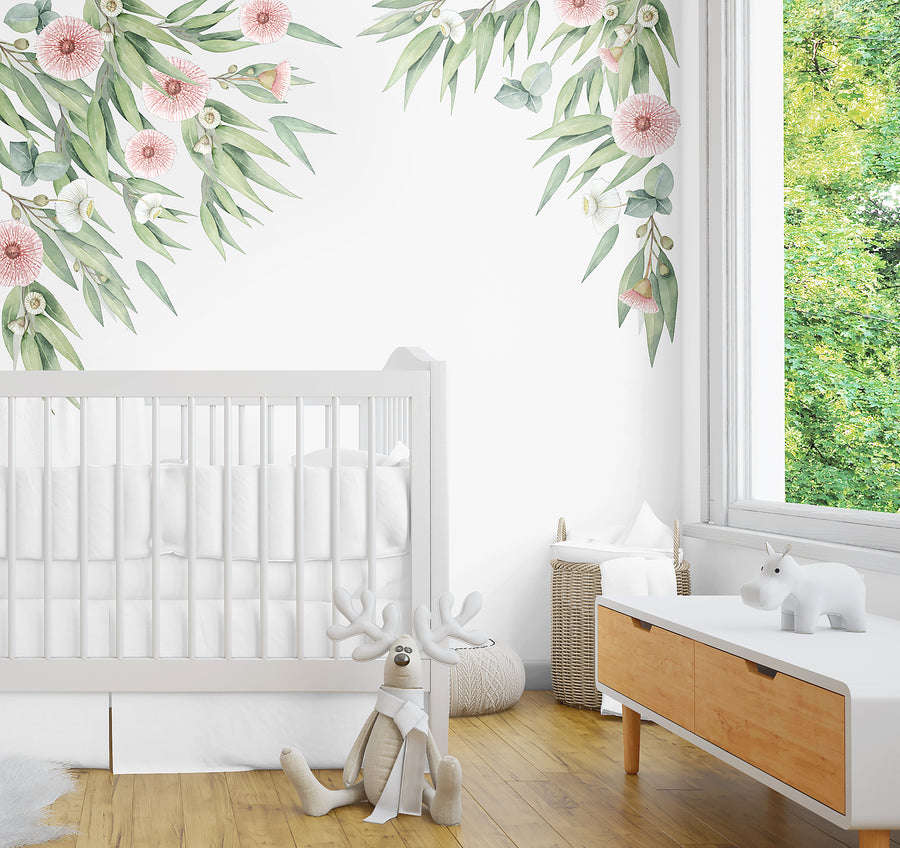 Australian Gum Tree Decal Set