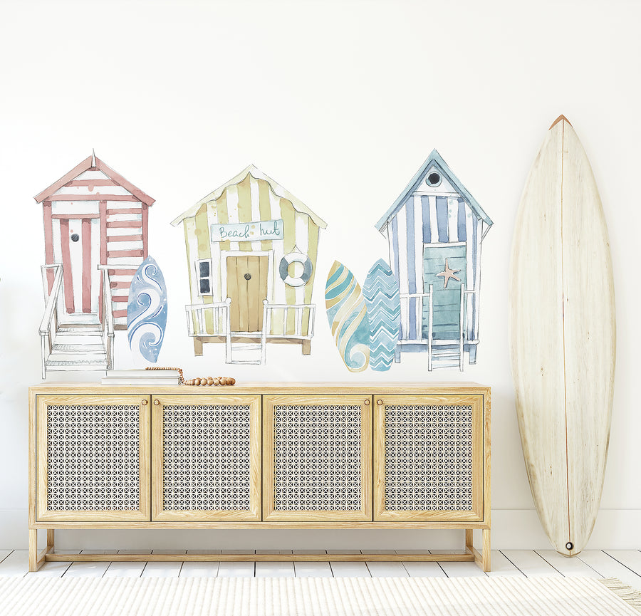 Beach House Wall Decal Set