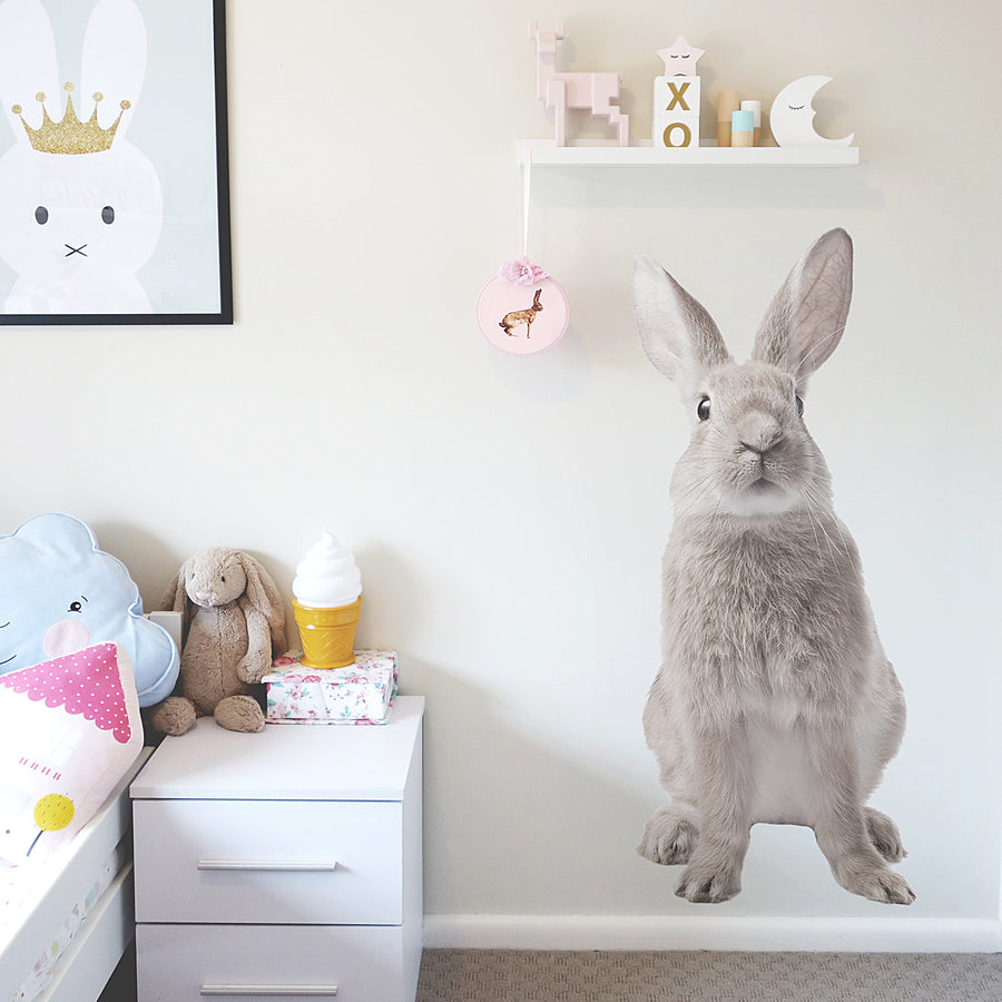 Bunny Wall Decal - Ginger Monkey