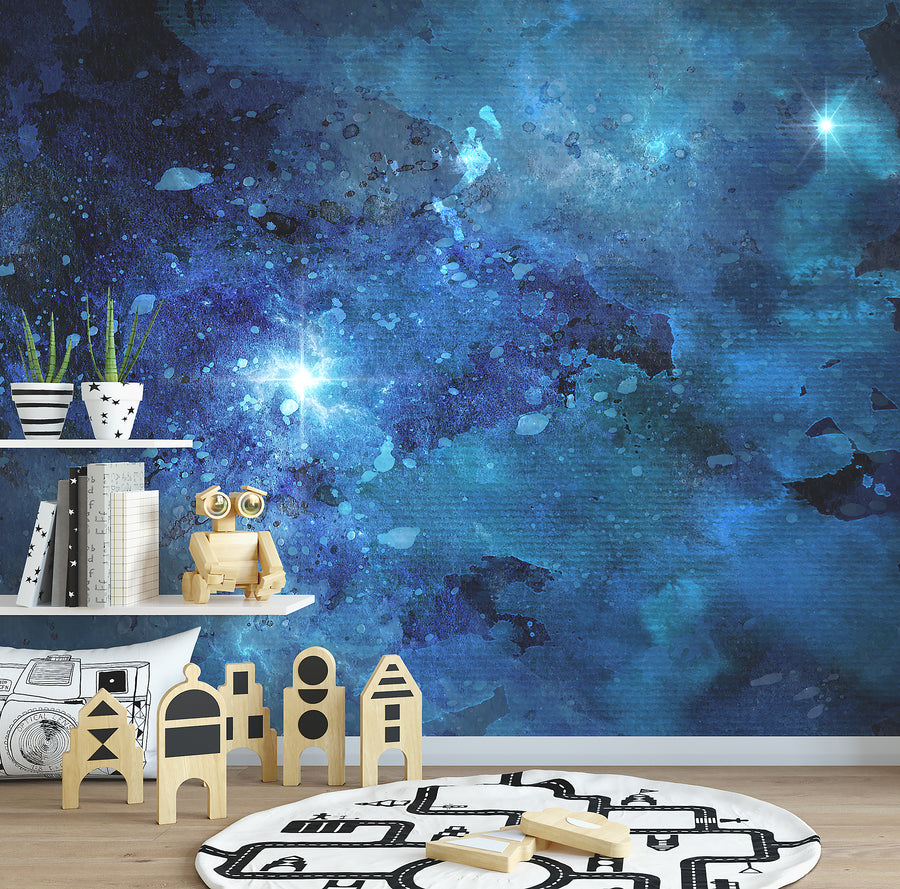 Watercolour Galaxy Wallpaper - Ginger Monkey