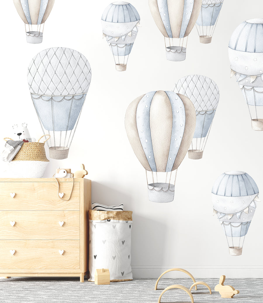 Hot Air Balloon Decal Set