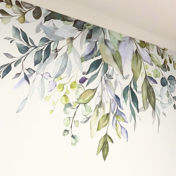 Native Garden Wall Decal