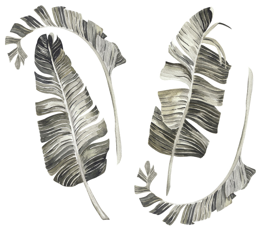 Palm Leaf Wall Decals