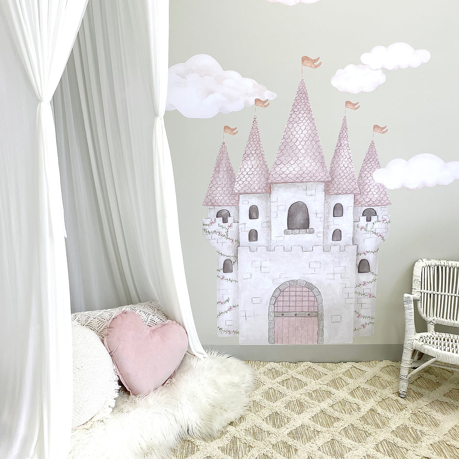 Castle & Clouds Decal Set