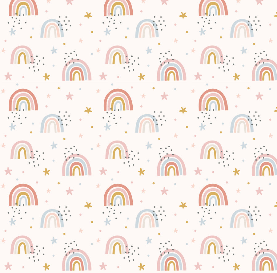 Pink Rainbow Wallpaper