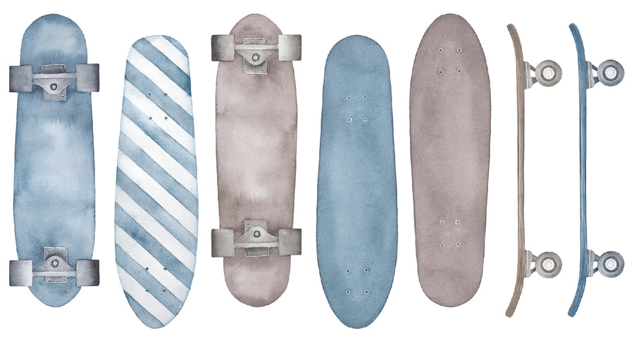Skateboard Decal Set