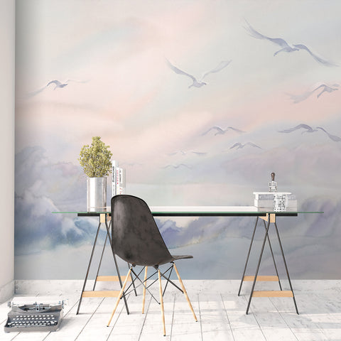 Tranquil Lake Wallpaper Mural - Ginger Monkey