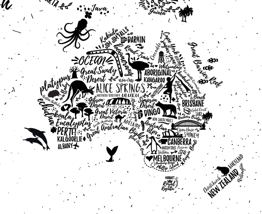 World map typography wallpaper ginger monkey world map typography wallpaper ginger monkey gumiabroncs Images