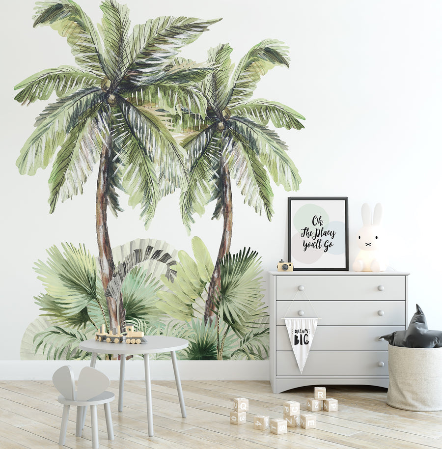 Tropical Island Wall Mural