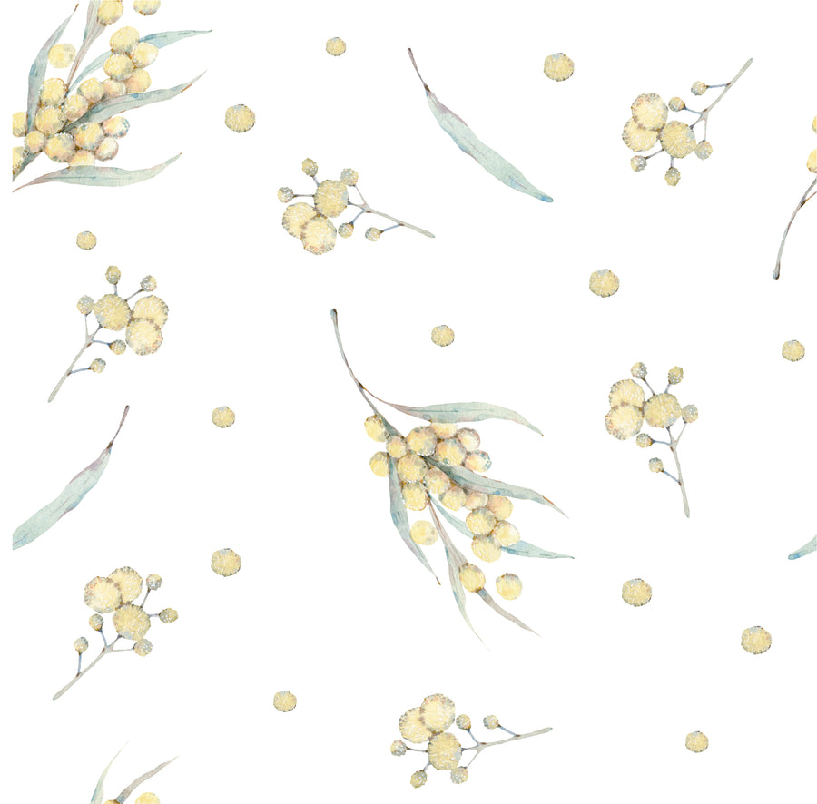 Australian Flora Wallpaper Range - Wattle