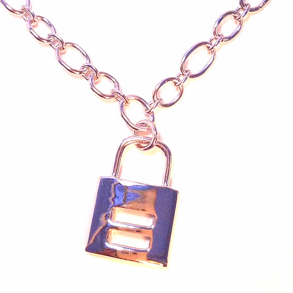 Equality  Pendant Necklace in 925 Sterling Silver in Silver, Yellow Gold and Rose Gold LGBTQ Jewelry