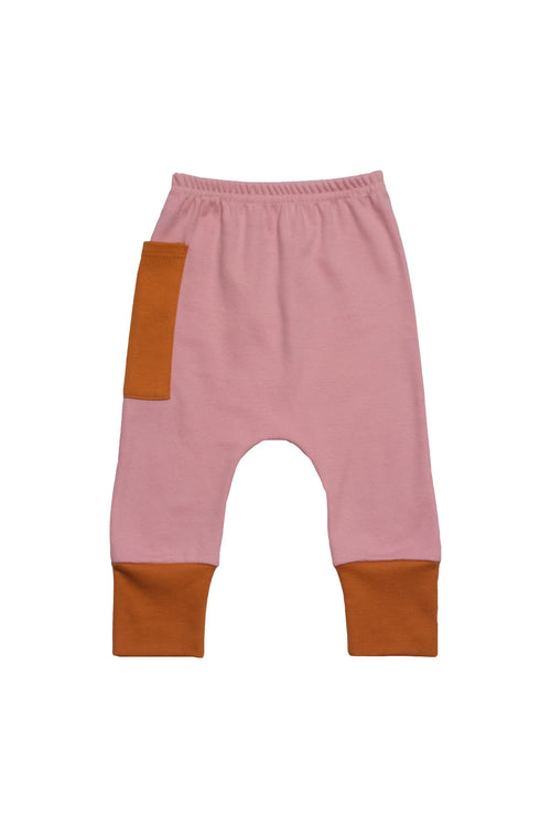 Euro Jogger with Contrast Pocket - Petal with Spice 2