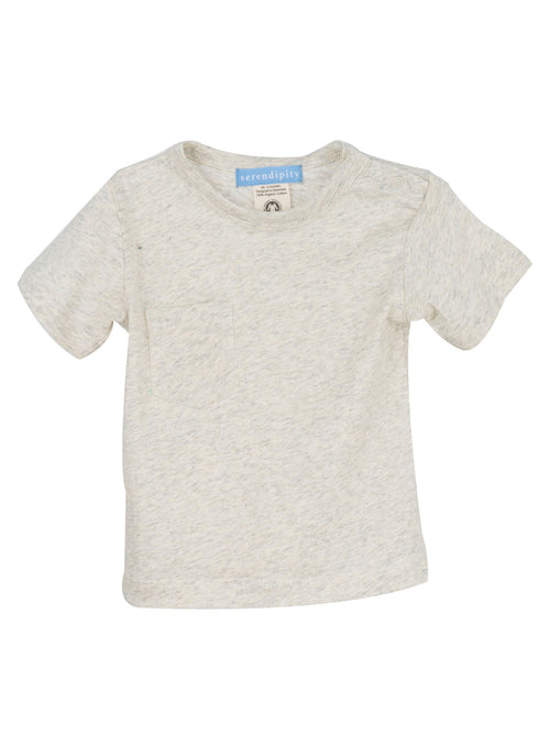Organic Baby Jersey Tee in Marble