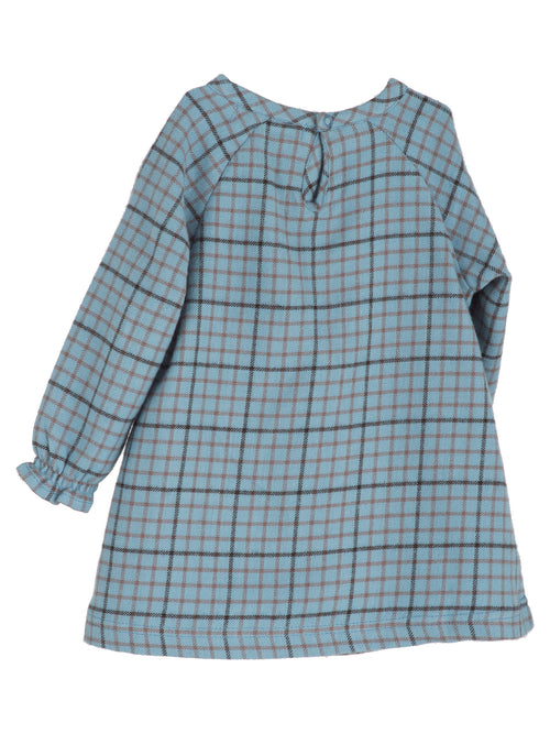 Baby Brushed Dress - Winterchecks back