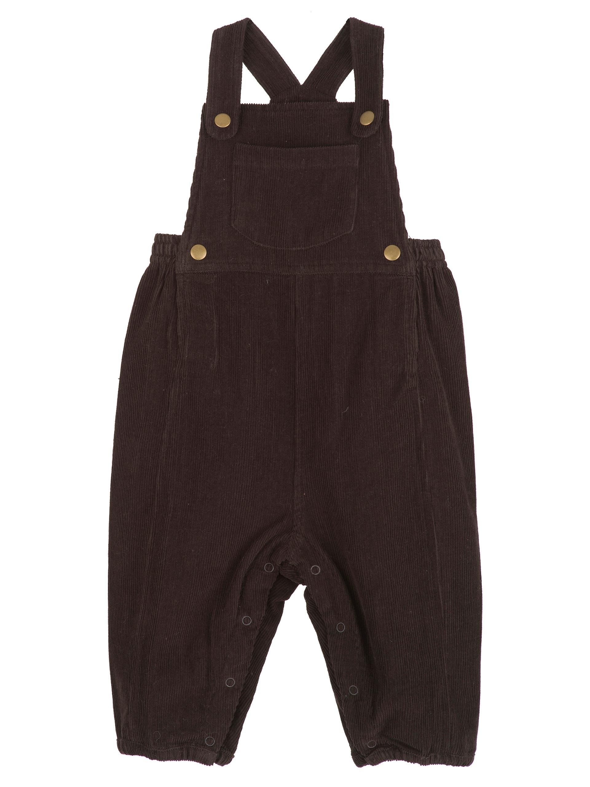 Baby Overall - Dark Brown