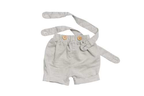 Organic Gray Smith Street Shorts 2