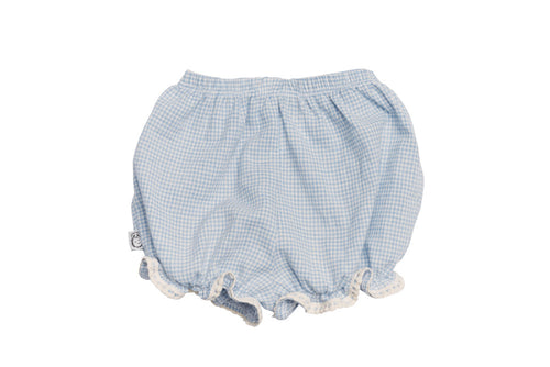 Organic Blue Bleecker Street Shorts- Back