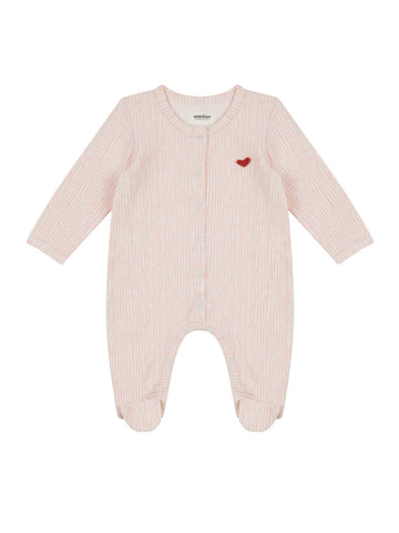 Cherry Cat Zip Romper