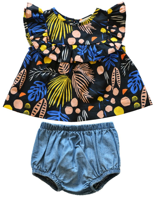 Stella Set - Tutti Frutti Print with Tide Wash