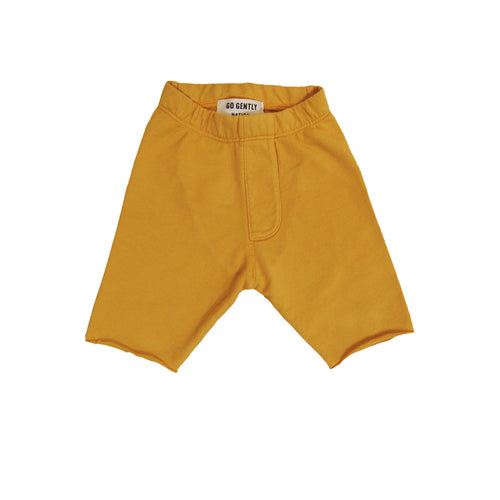 Organic Trouser Short in Golden