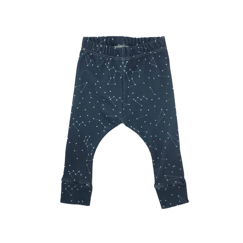 Constellations Leggings, Organic, Handmade in USA, by Genuineblox