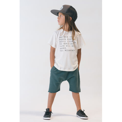 Boy in An Answer Tee