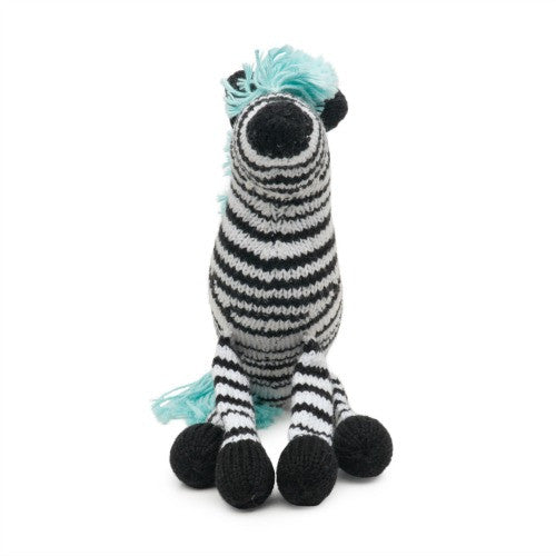Rattle Buddy - Daisy Zebra 2