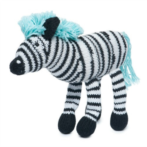 Rattle Buddy - Daisy Zebra 1