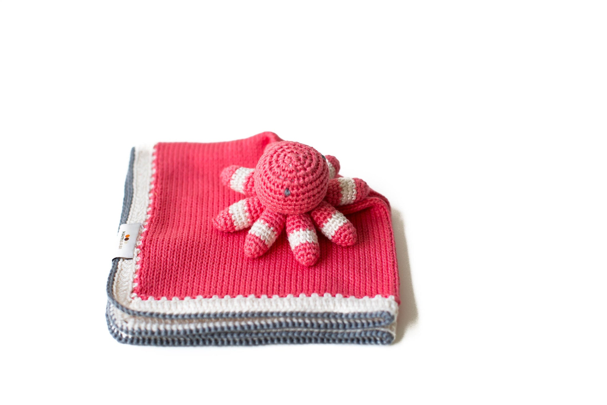 Octopus lovey in guava flat