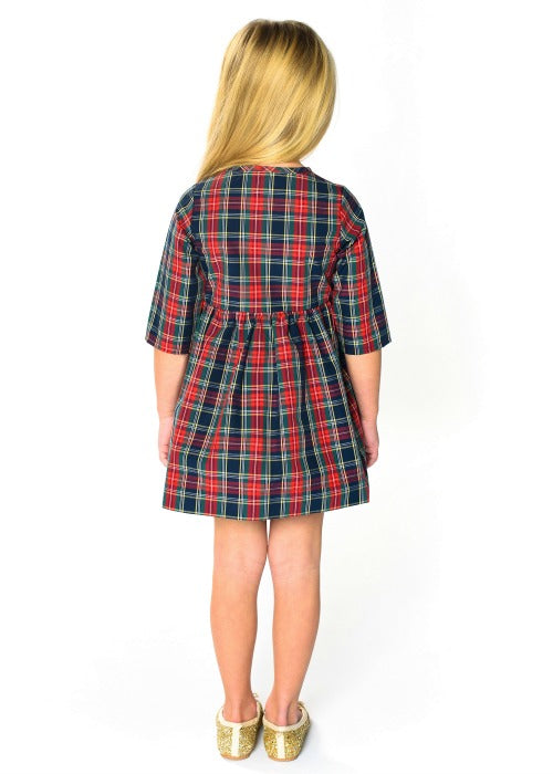 Holiday Plaid Duet Back