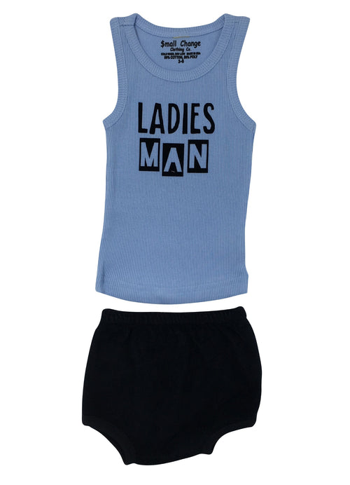 Ladies Man Tank Top with Bloomers