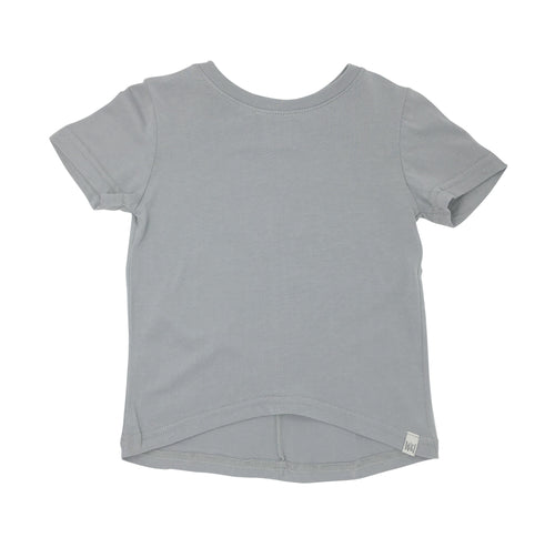 Short Sleeve Drop Back Shirt - Mist