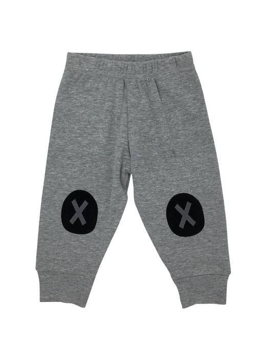 "Grey Pants with ""X"""