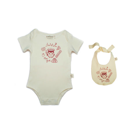 Organic Gift Set (Onesie) - Elephants