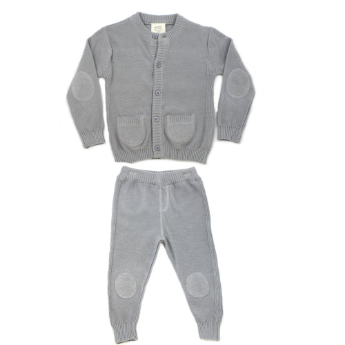 Milan Flat Set - Grey
