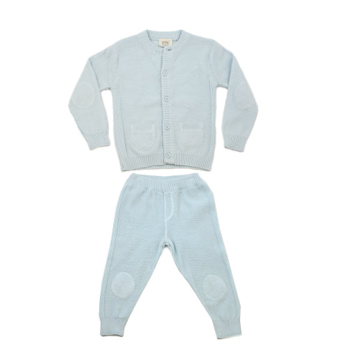 Milan Flat Set - Sky Blue