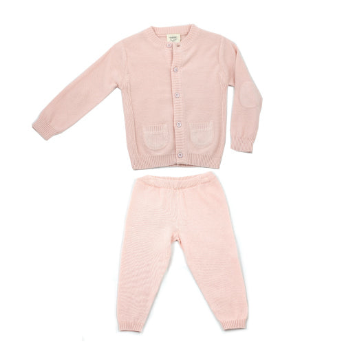 Milan Flat Set - Blush