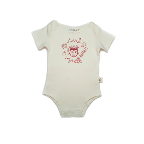 New York Onesie, Organic and made in the USA