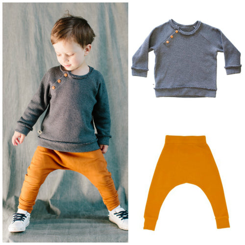 Reglan Sweater and Harem Pants