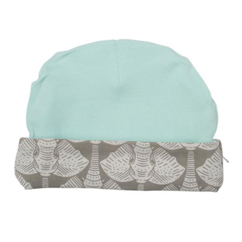 Reversible Hat - Elephants Second Side