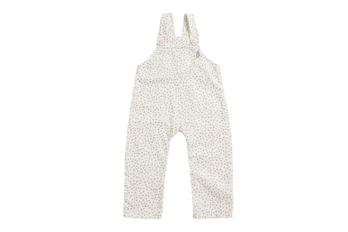 Organic Pink Dot Flatbush Overall - Front