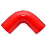 "90 Degree Elbow Hose Coupler, 2"" I.D. x 4"" Leg Length - Red"