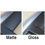 JDM Subaru AV Panel - Gloss Black And Silver