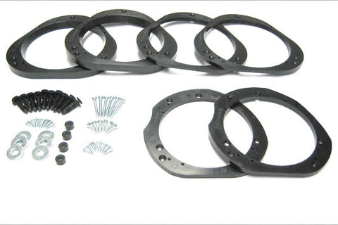 Subaru Speaker Adapter Combo Kit Front + Rear v1