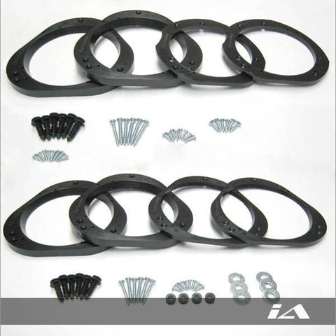 Subaru Speaker Adapter Combo Kit Front + Rear v2