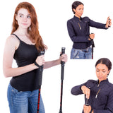 Trekking Pole with Pepper Spray Accessory, Single (1 stick)