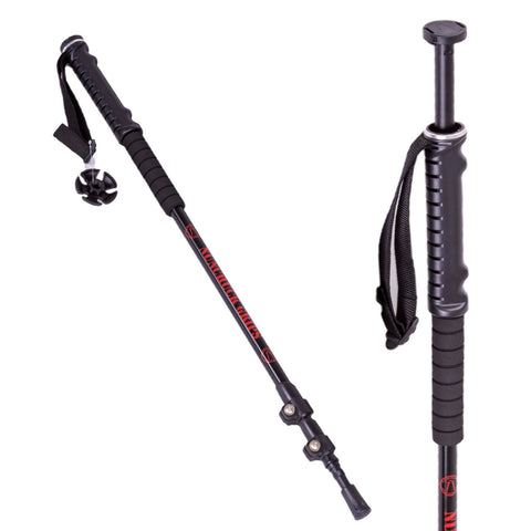 Trekking Pole with Stash Tube Accessory, Single (1 stick)