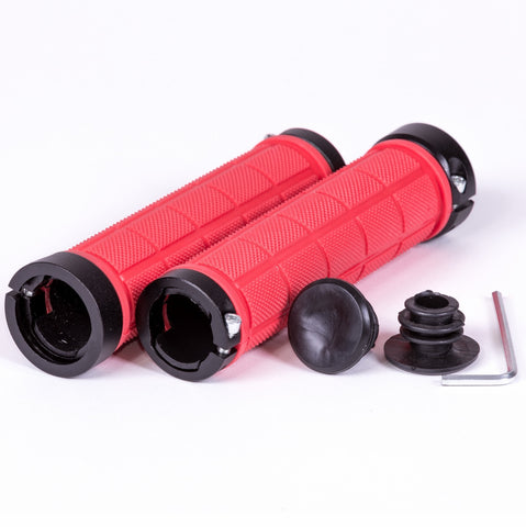 Lock on Bicycle Grips, accepts all Nunchuck Grips Accessories