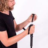 Trekking Pole with Knife Accessory, Single (1 Stick)
