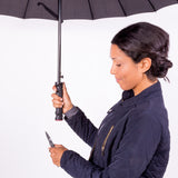 Umbrella with Knife Accessory